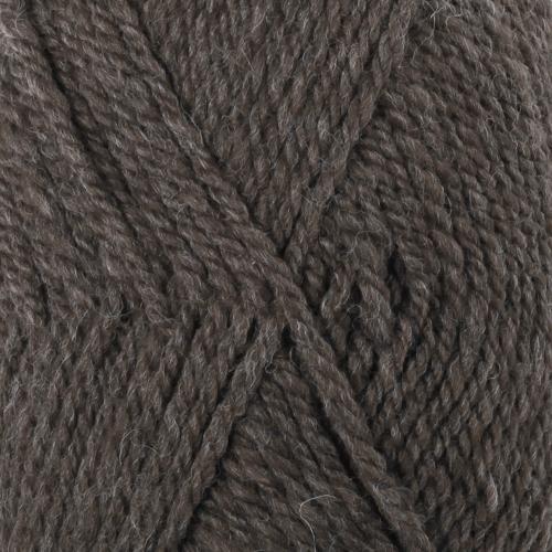 50 - Mørk brunmelert