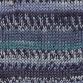 522 - Turkis/blå
