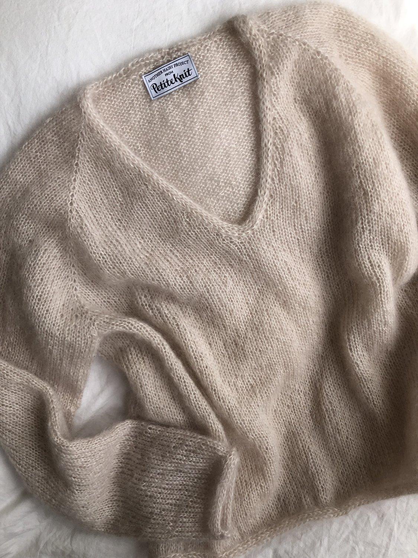 Cumulus Bluse Mønster Petite Knit – HobbyHimmelen