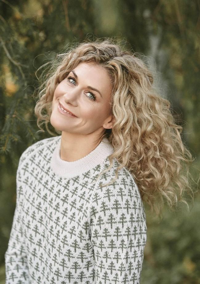 Cecilie Skog# 2 Trær jakke til dame Sandnes Garn