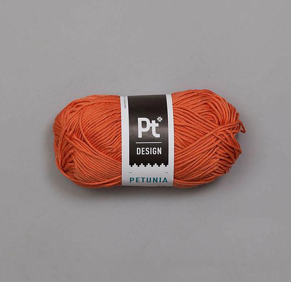 225 Mørk oransje